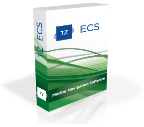 Marine navigation software - TZ ECS