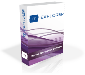 Marine navigation software - MaxSea TimeZero Explorer