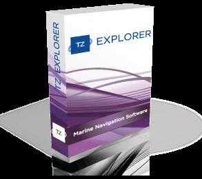 Logiciel de navigation maritime - TZ Explorer
