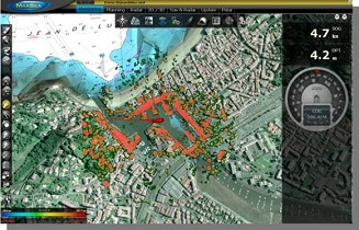 Radar Overlay sur carte Raster et PhotoFusion