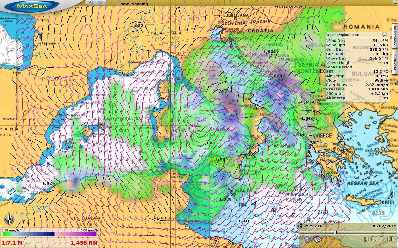 Software Maxsea Timezero Navigator Sailing Range Maxsea